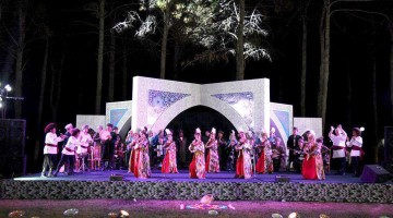 The city of Termez has played host to the opening ceremony of the International Bakhshi Art Festival.