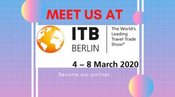 Meet us at ITB BERLIN