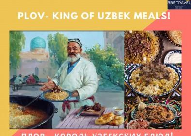 PLOV - KING OF UZBEK MEALS