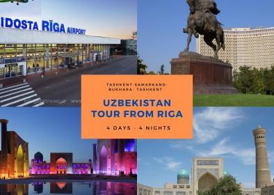 Uzbekistan tour from Riga