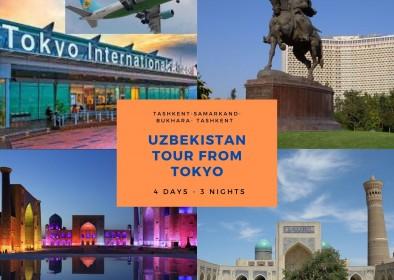 Uzbekistan tour from Tokyo